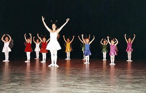 Ballett Auftritt